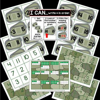 Veterans Day Math Activities