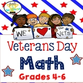 Veterans Day Math Activities