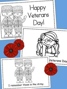 Veterans Day - Emergent Reader