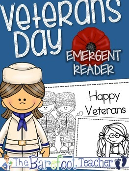 Veterans Day - Emergent Reader