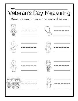 Veteran's Day Measuring Center