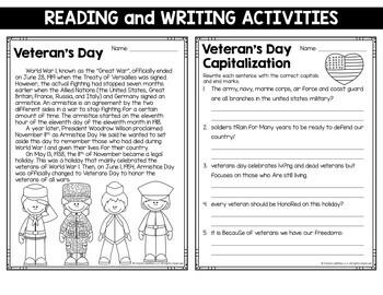 Veterans day essay
