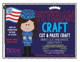 Veteran's Day / Memorial Day Military Craftivity