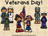 Veterans Day {Military Branches} Book and Activities Color