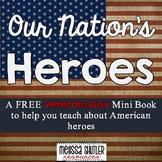 Veterans Day Mini Book Freebie