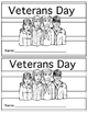 Veterans Day Mini Book & Letter Paper