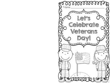 Veterans Day Mini-Book and Comprehension Quiz
