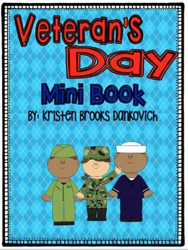 Veterans Day Mini Book and Writing