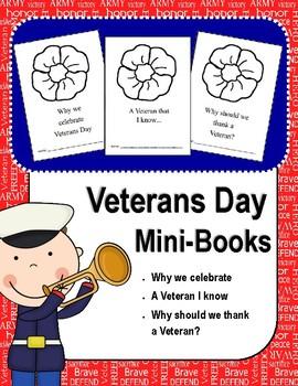 Veterans Day Mini-Books