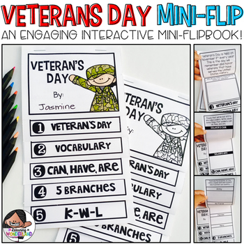 Veterans Day Mini-Flip