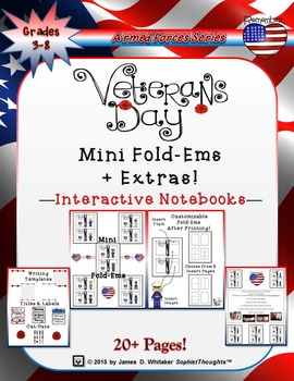 Veteran's Day Mini Fold-Ems