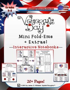 Veteran's Day Mini Fold-Ems