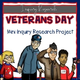 Veterans Day Mini Inquiry Research Project Guide