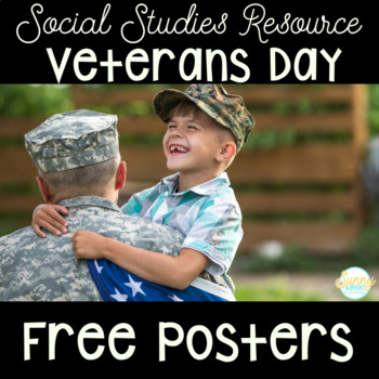 Veterans Day- Mini Poster Pack- Freebie!