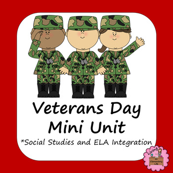Veterans Day Activities -No Prep Mini Unit