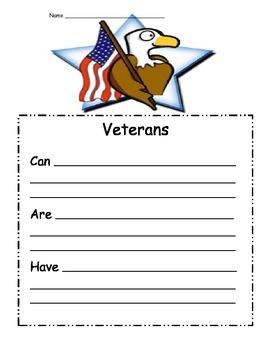 Veterans Day Mini-Unit by Amy Chevalier