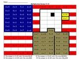 Veteran's  Day Multiplication Review 0-1