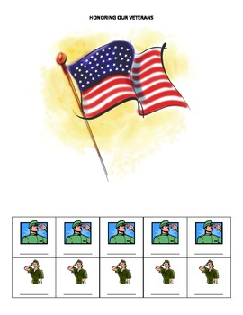 Veteran's Day Name Game for Speech and Language