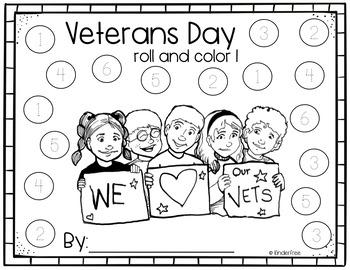 Veterans Day No Prep Activity Pack