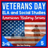Veterans Day Literacy and Social Studies Activities, Novem