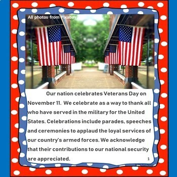 Veterans Day Literacy and Social Studies Activities, November 11th {Grades 3-5}