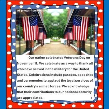 Veterans Day Literacy and Social Studies Activities, November 11th {Grades 3-5}