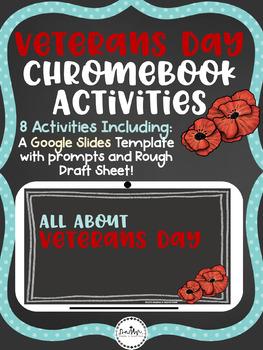 Veterans Day Online/Chromebook Research Activities