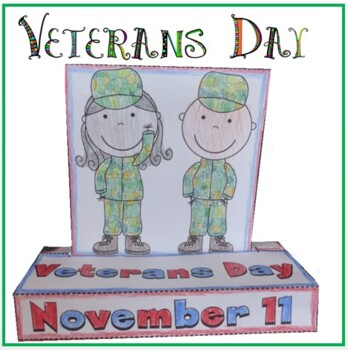 Veterans Day POP-UP Craftivity