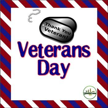 Veterans Day Learning Pack