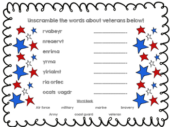 Veterans Day Packet!