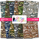 Veterans Day Paper | Camouflage Scrapbook Backgrounds for Classroom Resources