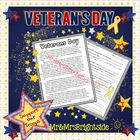 Veteran's Day (Passage with short answer comprehension questions)