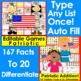 Veterans' Day Activities Math and Literacy Bundle Value Save $5.00!