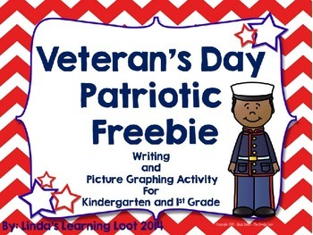 Veteran's Day Patriotic Writing Prompts and Picture Graphi