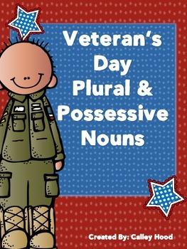 Veteran's Day Plural and Possessive nouns
