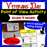 Veterans Day Point of View Activity