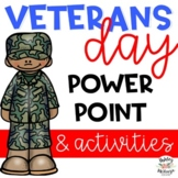 Veterans Day Activities  & Power Point Pack