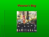Veterans' Day Power Point and Music