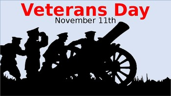 Veterans Day: PowerPoint Presentation with Musical Audio