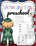Veterans Day Preschool Printables