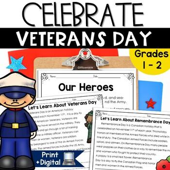 Veterans Day Primary Activities