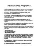 Veterans' Day Program 3