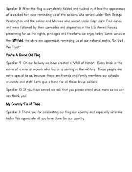 Veterans Day Program 4