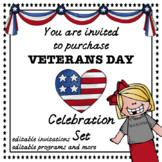 Veterans Day Programs and Newsletters