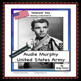 Veterans' Day Audie Murphy Reading Comprehension