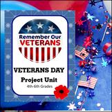 Veterans Day Project Unit (4th-6th grades)