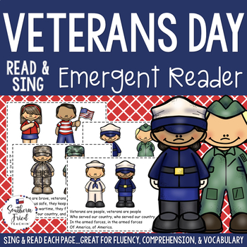 Veterans Day Shared Reading Read & Sing Early Reader