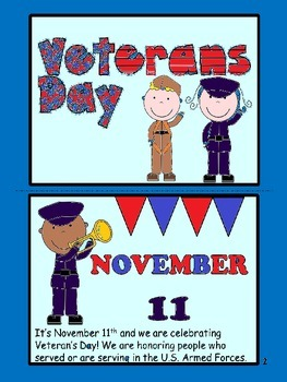 Veterans' Day Reader