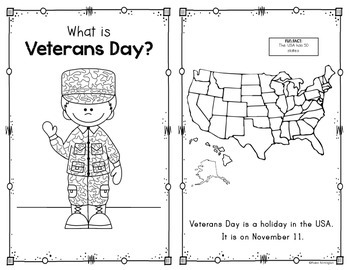 Veterans Day Reader for First