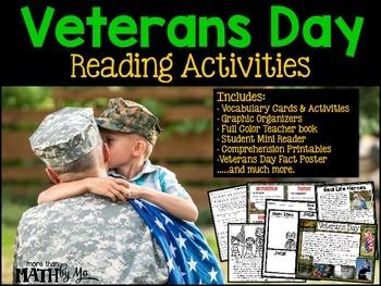 Veterans Day Reading Activities